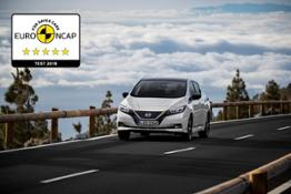 426226265 New Nissan LEAF achieves 5-star safety rating in Euro NCAP crash tests