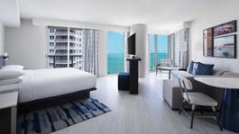 Hyatt Centric Miami Brickell King Junior Suite