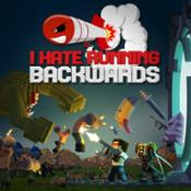 I Hate Running Backwards - Key Art