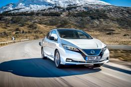 The new Nissan LEAF-source