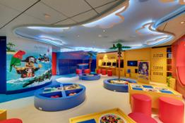 LEGO pirate-themed room for kids 7-11