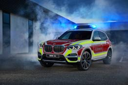 Photo Set - The BMW X3 xDrive20d as a fire service command vehicle
