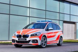 Photo Set - The BMW 220d xDrive Gran Tourer for the emergency physician