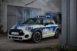 Photo Set - The MINI John Cooper Works as police car