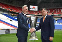 20180516 Hankook Tire announces the extension of its contract with the UEFA Europa League 1