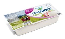 Mozzarella Valfiorita filone senza lattosio 400g Bayernland -low