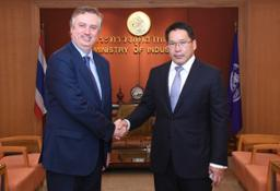 Nissan Executive Vice President meets Thailand Minister of Industry-source-source