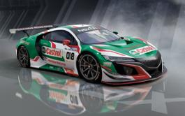 130812 Castrol Honda Racing enters Spa 24 Hours with NSX GT3