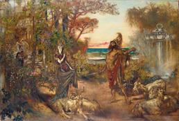 4283 Odysseus vor Circe