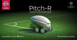 426227055 Nissan scores with Pitch-R robot at 2018 UEFA Champion s League Final Kyiv
