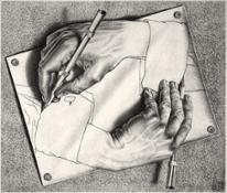 9. Drawing Hands