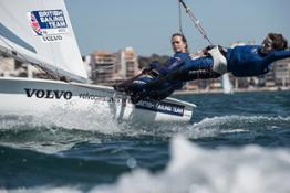 230112 British Sailing Team members Hannah Mills and Eilidh McIntyre
