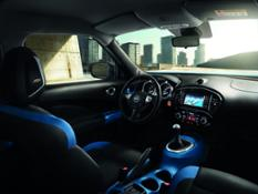 426223989 Nissan Juke MY18 Interior - Blue