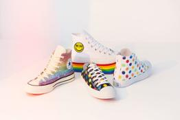 ConverseXPride2018 SU18 PRIDE FOOTWEAR -GROUP SHOT 01 re original