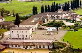 Veduta Borgo La Bagnaia HR