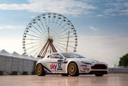 Sky-liveried V8 Vantage GT4  Martin Brundle  Chris Hoy-jpg