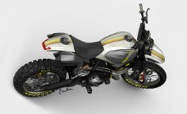 01 Ducati Scrambler Concept Bike by Earle Motors and Ducati UC66173 High