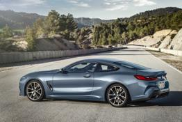 The all-new BMW 8 Series Coupe 09