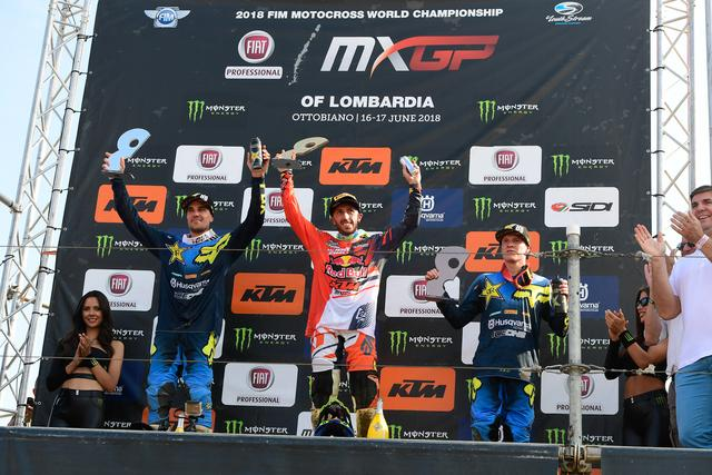 Tony Cairoli Triumphs At The Fiat Professional Mxgp Di