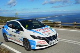 Nissan #ecoteam in the Portugal EcoRallye - Photo 01-source