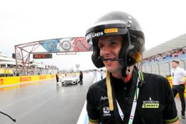 Simon Yates, Mitchtelton-SCOTT, ready for the Hot Laps @Formula 1 Pirelli Grand Prix de France 2018