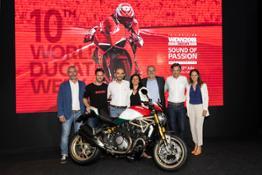 04 Ducati WDW2018PressConference Gennari Dovizioso Domenicali Tosi Giannini Albani CorbelliUC66385 High