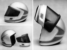 Photo Set - BMW Motorrad rider equipment history.