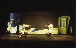 03 Tango glaciale 1982 Amsterdam Mickery Theatre foto di B. Van Dantzig