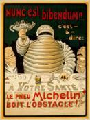 Affiche Omino Michelin 1904