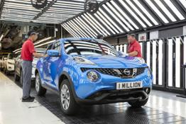 426230204 One millionth Juke built at Nissan Sunderland Plant