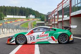 135537 Riccardo Patrese and Loic Depailler in the NSX GT3 at Spa 24 Hours