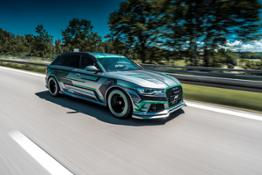 ABT RS6-E Concept driving 1