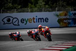 Marc Marquez, Jorge Lorenzo and Andrea Dovizioso – Austrian GP 3