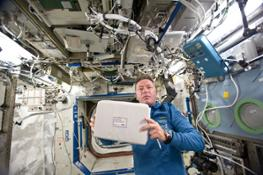 Air quality control and monitoring system NADIR ready to be installed on ISS