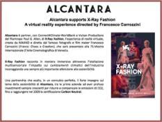 Alcantara XRay Fashion