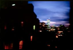 Nan Goldin - Night Vision from my Apartment of World Trade Center, NYC, 2001