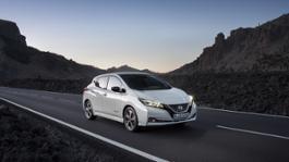 Nissan in vetta alle classifiche di vendita nella mobilità elettrica  in Italia