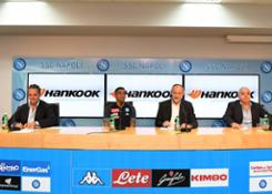 20180913 Hankook Tire and SSC Napoli signed sponsorship agreeement
