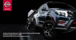 Nissan Navara Dark Sky Concept - Teaser 2