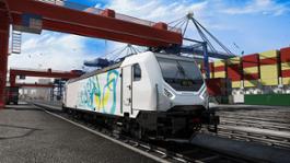 3 Bombardier TRAXX Locomotive