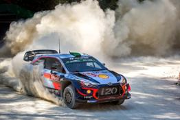 Hyundai Motorsport Rally di Turchia 2018 (1)