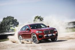 17 Nuova BMW X4 Dinamiche