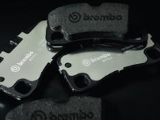 5 Brembo Xtra brake pads