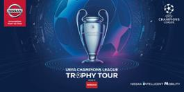 426235490 Nissan drives new UEFA Champions League Trophy Tour