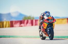 Brad Binder KTM Moto2 MotorLand Aragon 2018
