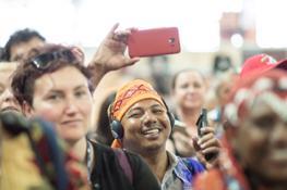 Uno spazio condiviso tra indigeni, migranti e SFYN - Cerimonia di apertura