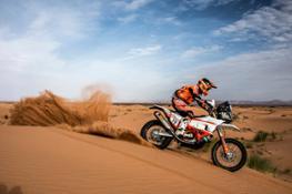 Luciano Benavides - KTM 450 RALLY - Rally du Maroc 2018
