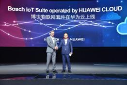 bosch launches iot softwares on huawei cloud