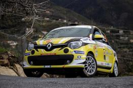 21218005 CS- AL 36 RALLY DUE VALLI I TROFEI CLIO R3 TOP E TWINGO R1 TOP GIUNGONO ALL