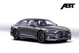 ABT Audi A8 front grey